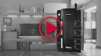 SX650G Battery Backup UPS
