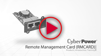 Remote Management Card Training Video