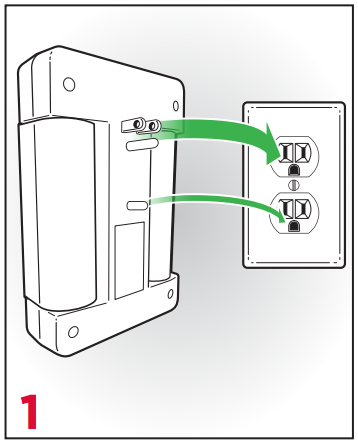Step 1 - Securely plug your Premier Surge Protector Wall Tap into a wall outlet.