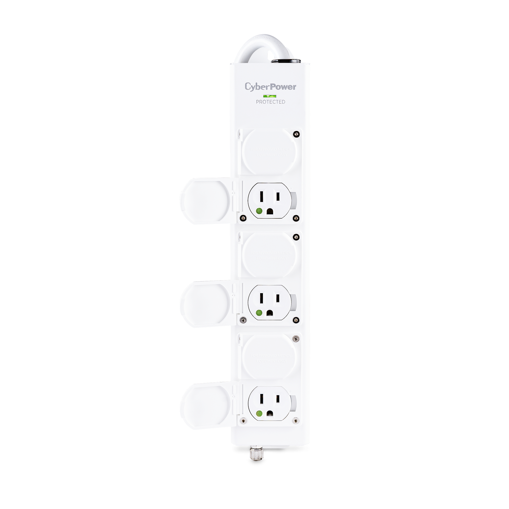 CyberPower CSP604T 4 Feet 6 Outlets 1350 joules Surge Suppressor